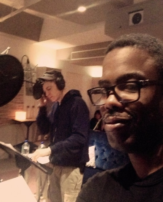 2013.09.07 - Eminem In The Studio With Chris Rock