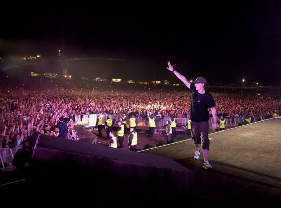 Eminem Live at Slane Castle Dublin 15