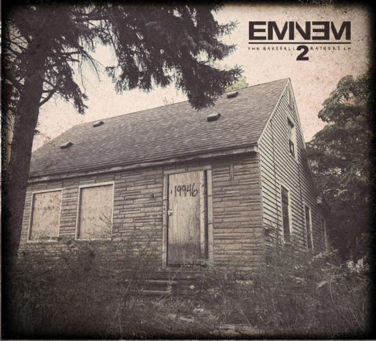 Eminem - The Marshall Mathers LP 2 Cover