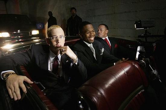 Eminem Dr. Dre 50 Cent