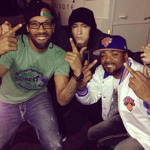 Dr. Dre и Eminem выступили на шоу Beats Music в Лос-Анджелесе 9