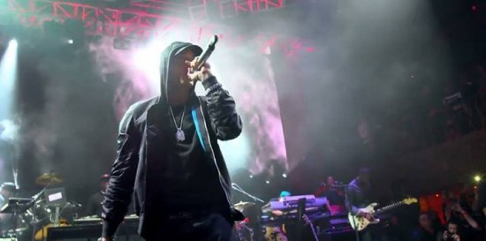 2014.04.22 - Eminem at Beats Music Live 90's Hip Hop Show