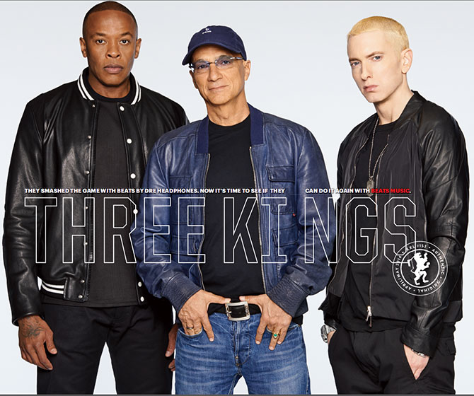 "Dr. Dre, Eminem And Jimmy Iovine, ""Three Kings"""