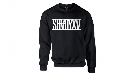 SHADYXV - Limited Edition Black Crewneck Sweatshirt and T-Shirt