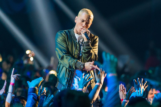 Eminem suing New Zealand's National Party after