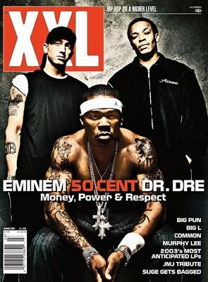 march 2003 eminem dr. dre 50 cent