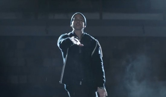 2014.11.24 - Eminem Guts Over Feat Music Video