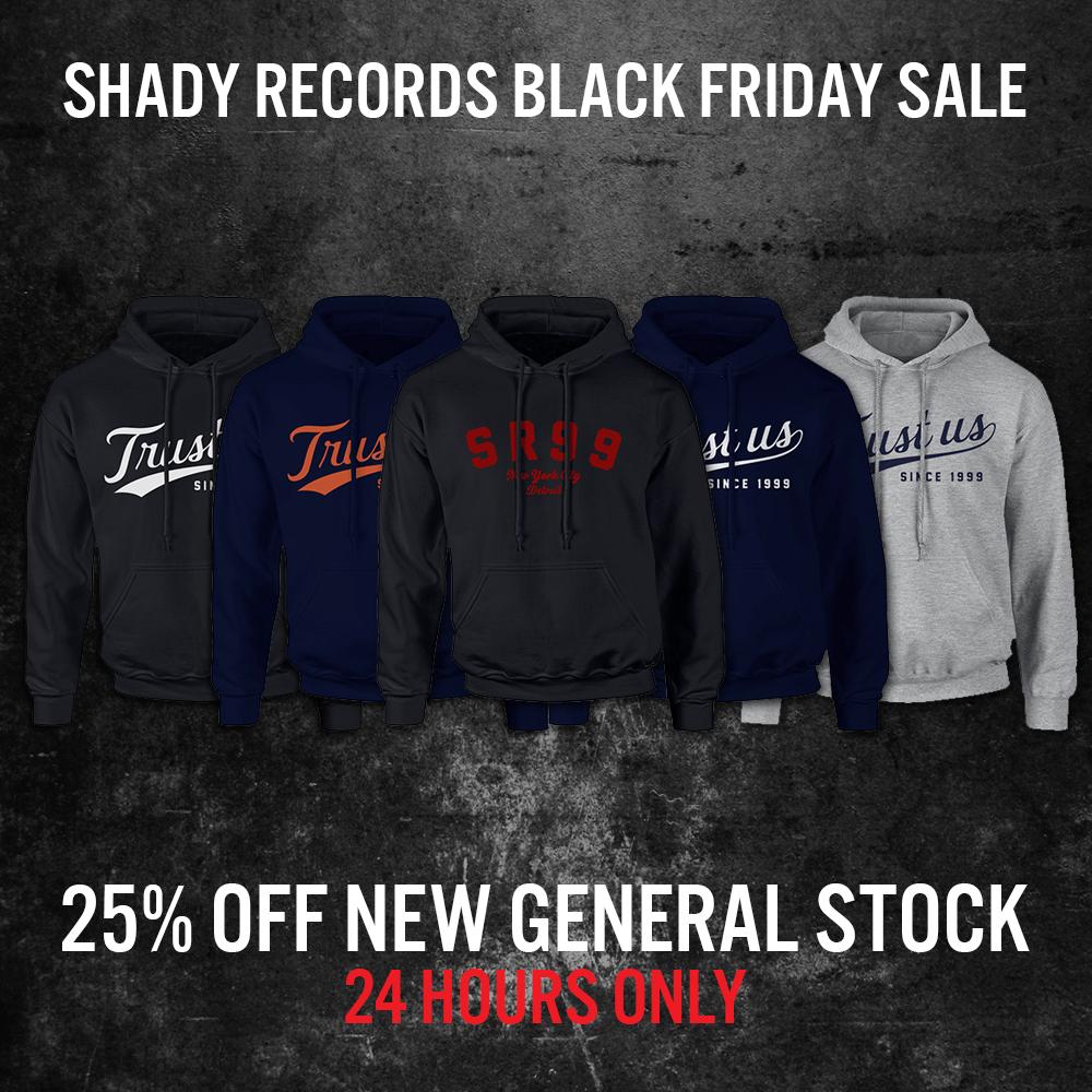 SHADY RECORDS BLACK FRIDAY SALE