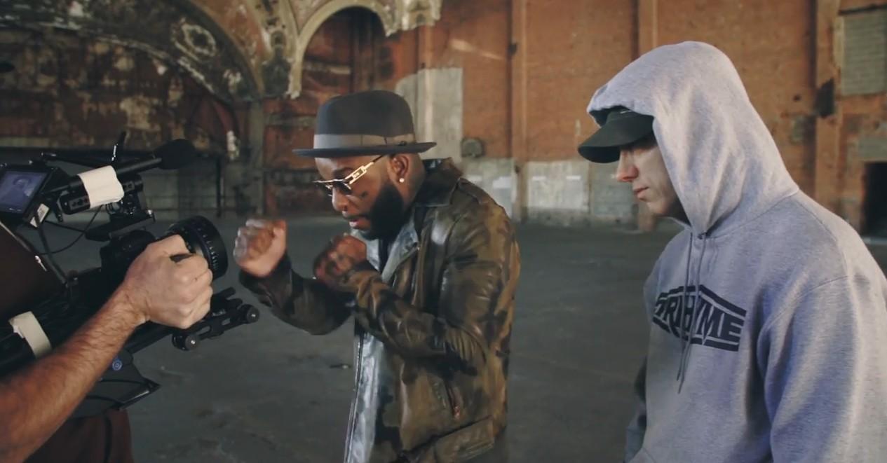 Eminem - CXVPHER (Behind The Scenes) ft. Slaughterhouse, Yelawolf