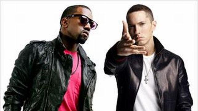 Kanye West and Eminem