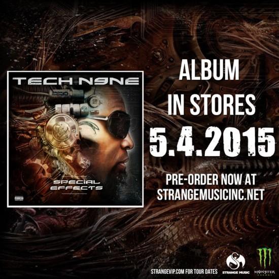 [Snippet] Tech N9ne feat. Eminem — Speedom / Worldwide Choppers 2