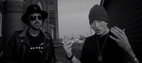 "Eminem and Yelawolf Discuss ""Love Story"""