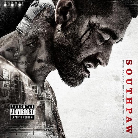 Official Cover Art -  Southpaw (Music From and Inspired by the Motion Picture)