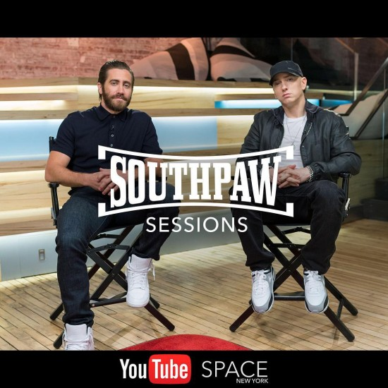 2015.07.24 - Southpaw Sessions Round 1 Eminem Jake Gyllenhaal Joe Levy