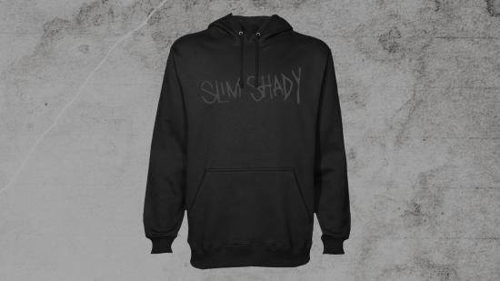 Slim Shady Hoodie Black on Black