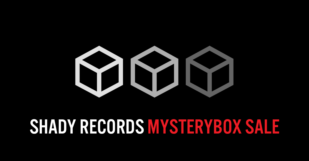 Shady Records Mysteryboxes