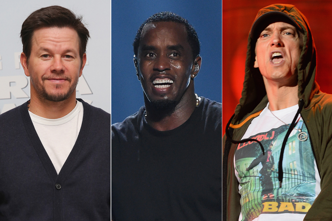 Puff Daddy, Eminem, Wiz Khalifa & Mark Wahlberg Donate Water To Flint, Michigan