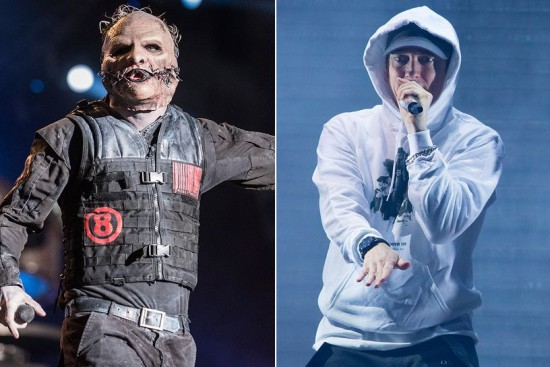Slipknot's Corey Taylor Wants an Eminem Collaboration