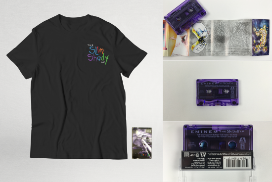 Available now: The Slim Shady LP Cassette (SIGNED)