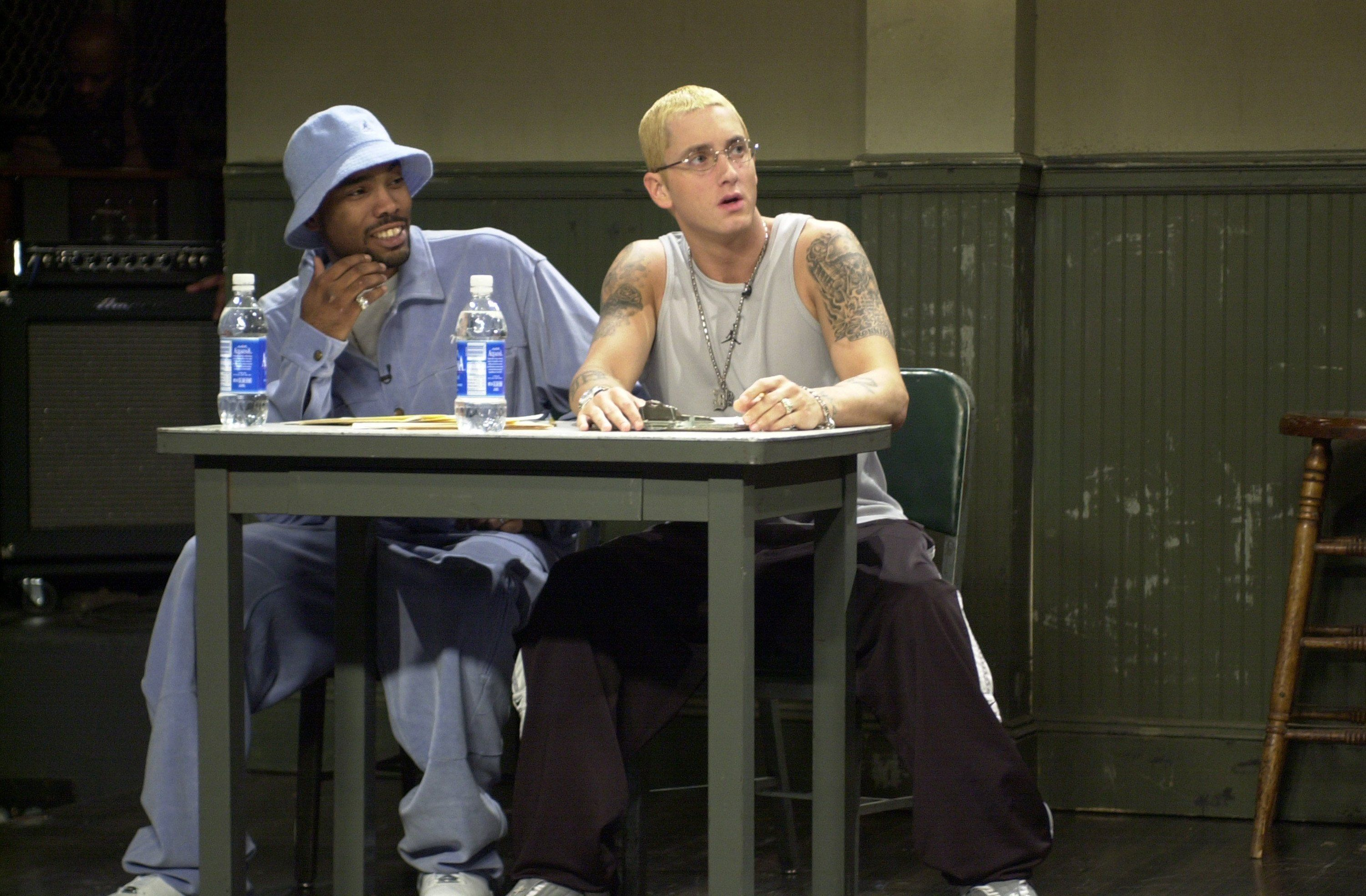 Take 25 Minutes To Appreciate This Unreleased 2004 Eminem And D12 Freestyle