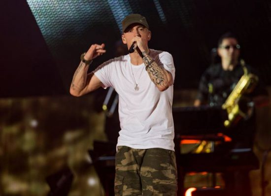 [Rumors] New Songs From Eminem's New Album Could Be Dropped During Rapper's Summer U.K. Tour