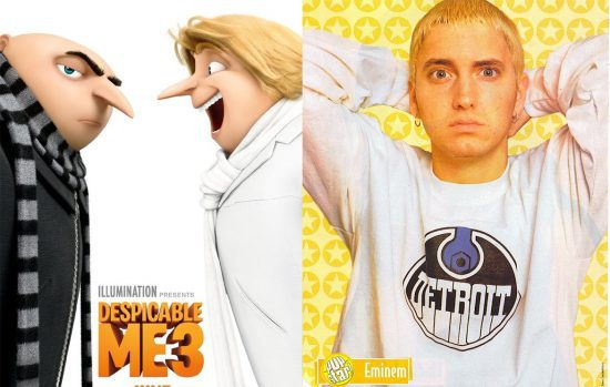 """Eminem: """"So Bad"""" featured in new trailer for """"Despicable Me 3"""". In theaters this summer. Not so bad"""""""