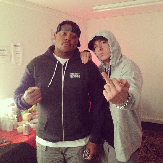 Mr. Porter says that Eminem will be dropping something very soon