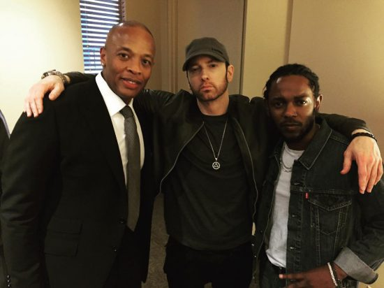 Dr. Dre, Eminem, Kendrick Lamar 22.06.2017