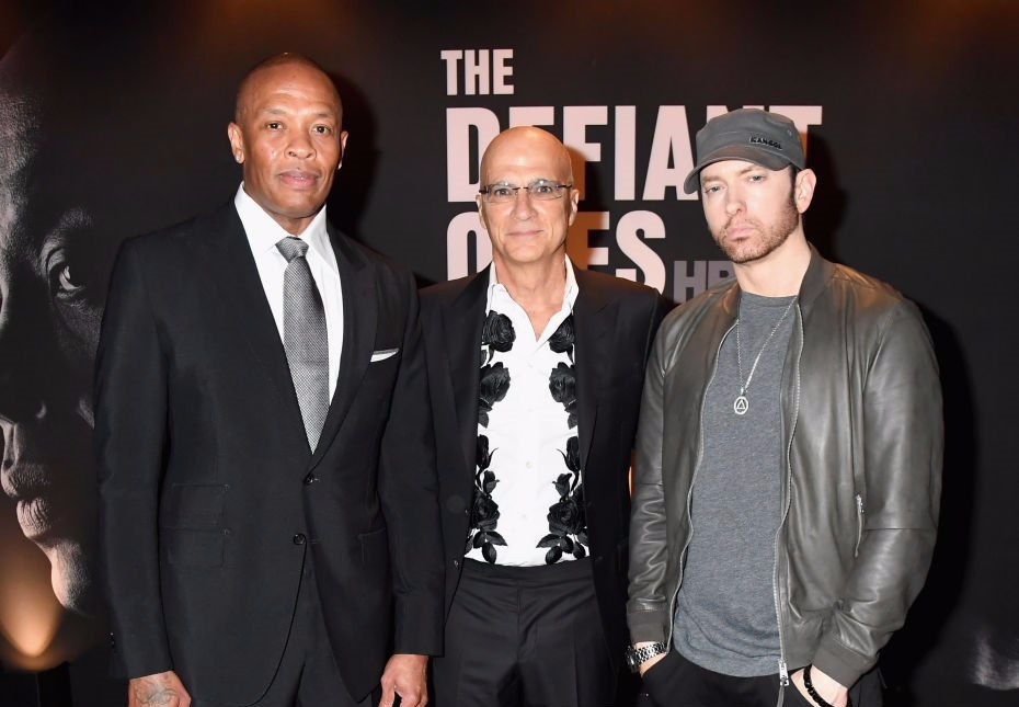 On June 22 Eminem attended the premiere of