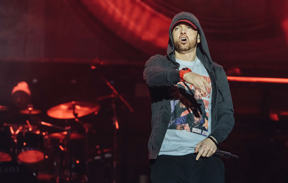 Eminem Leeds Festivale 2017