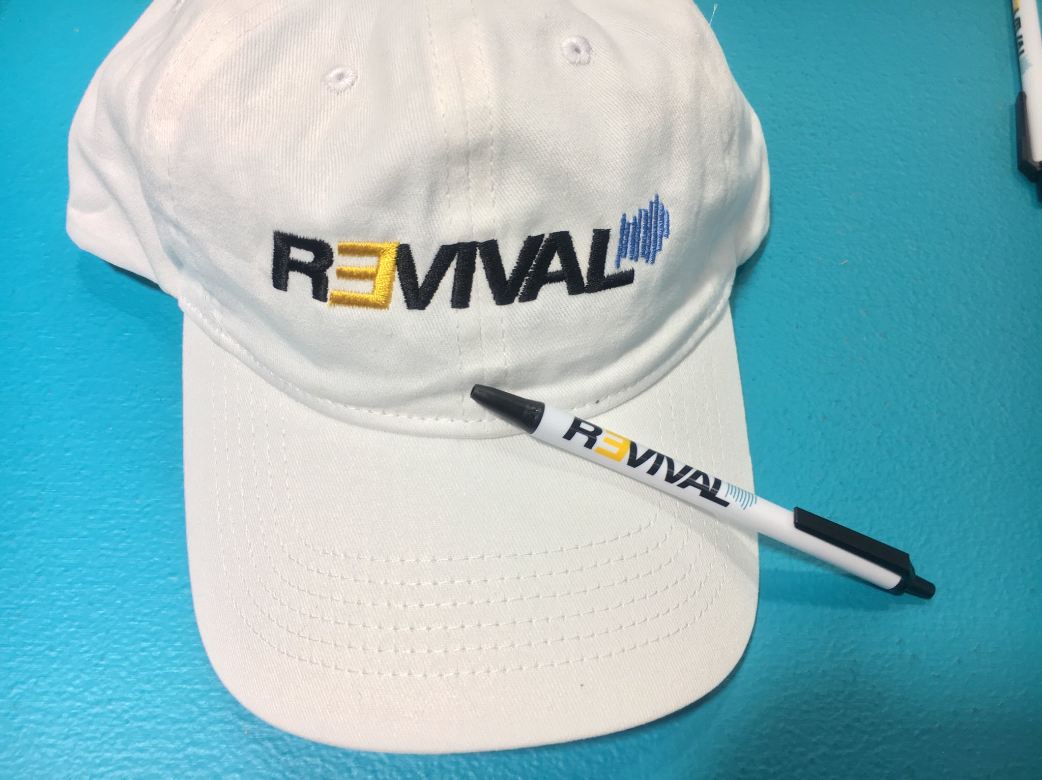 """The hiphopdx reporter has recently talked to the """"Revival"""" representative. ComplexCon visitors are even offered souvenirs with the Revival symbols"""