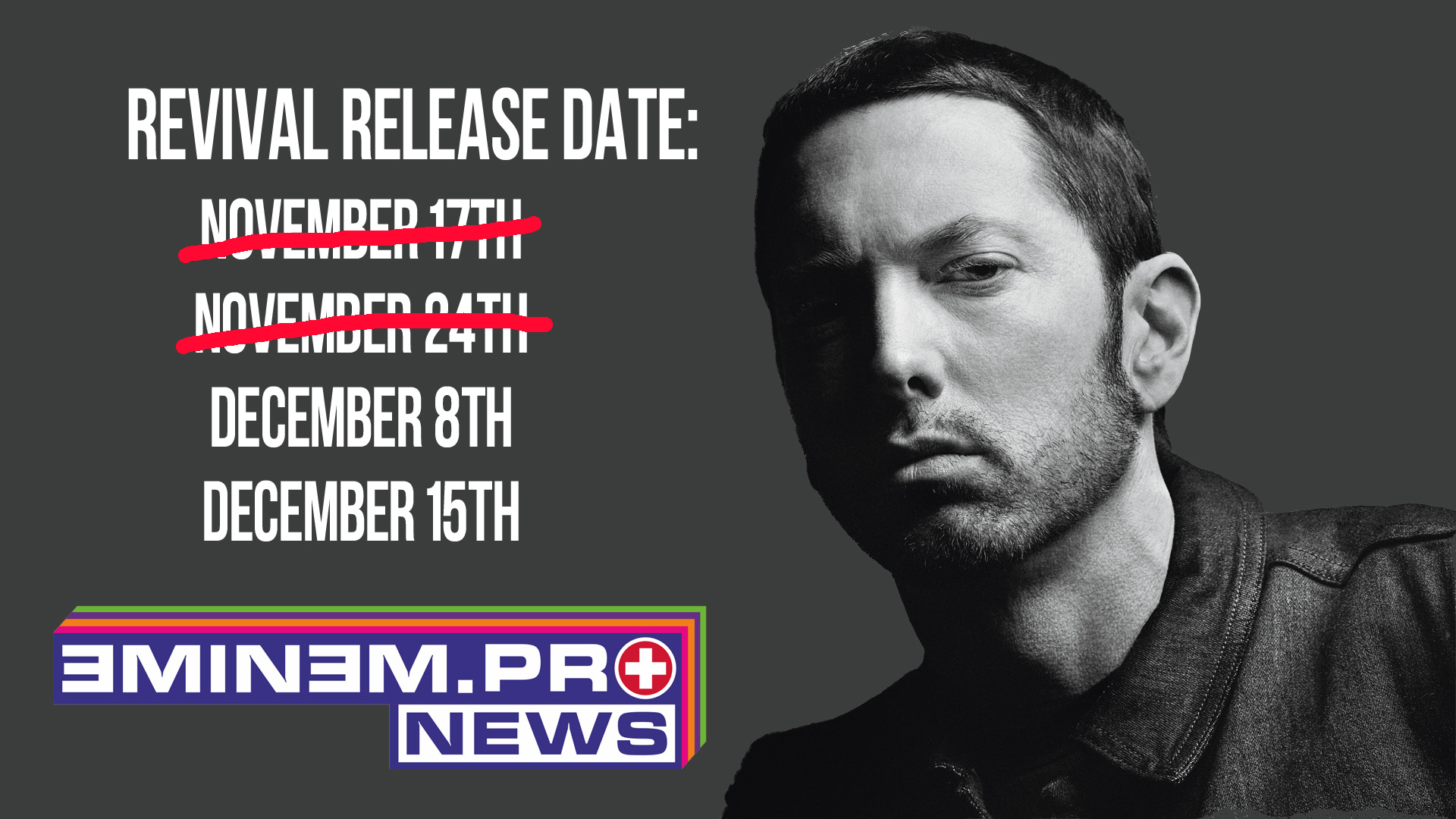 ePro News 32: When is Eminem dropping Revival? Target leaked the release date?