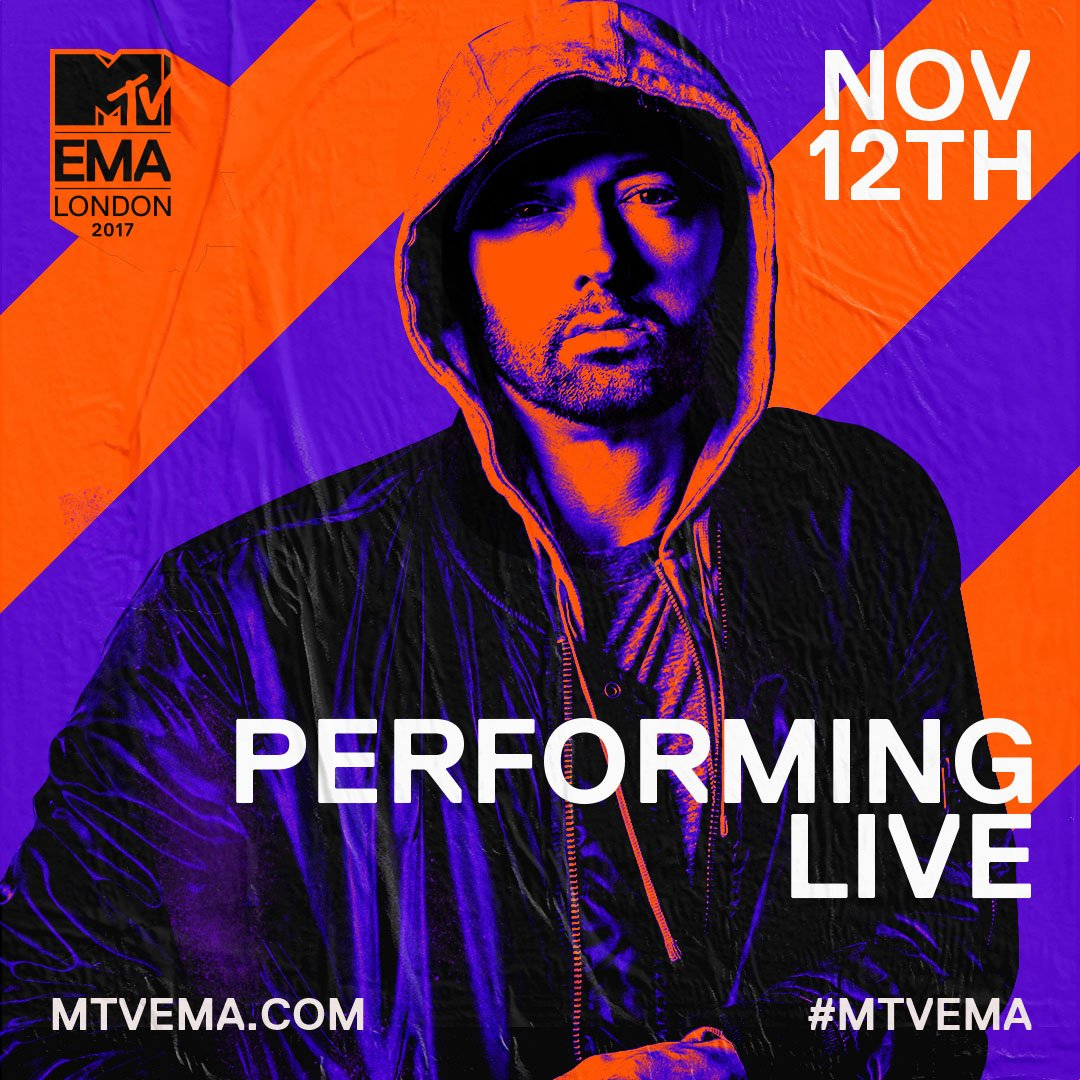Eminem Is Performing a New Song At the 2017 EMA
