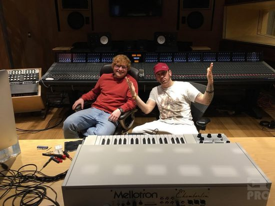 "Eminem & Ed Sheeran's ""River"" Ranks As Pop Radio's Most Added Song"