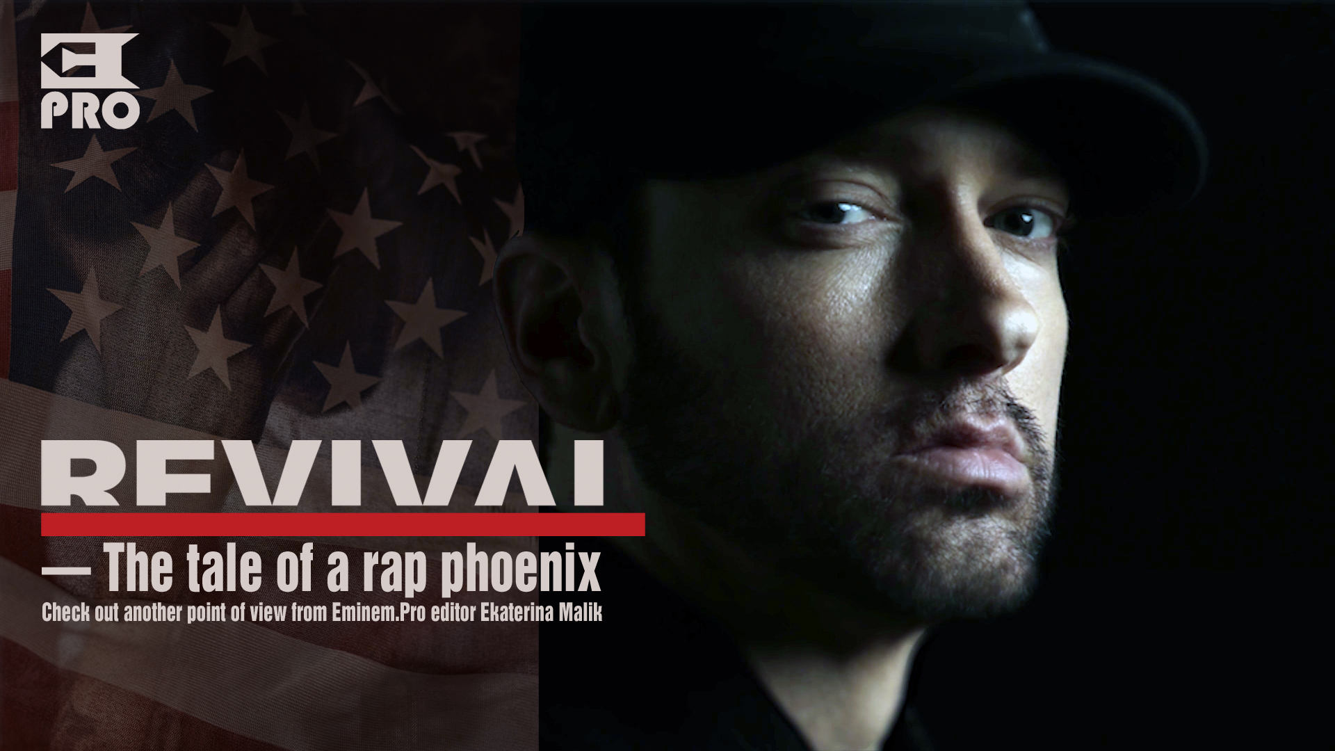 The tale of a rap phoenix - Revival. Antoher review from Eminem.Pro