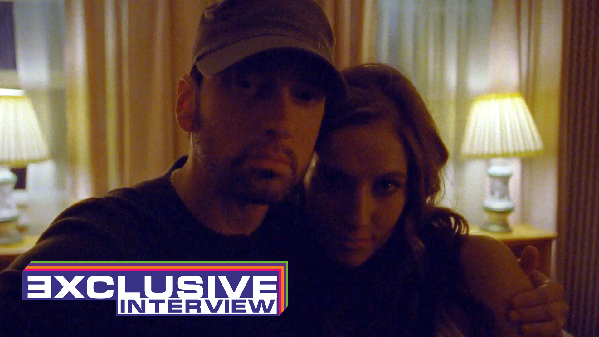 "Eminem.Pro exclusive interview with Sarati, actress who played Suzanne in Eminem's and Ed Sheeran's video ""River""."