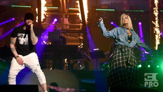 Eminem X Bebe Rexha - The Monster (Coachella 2018, Multicam & Official Audio)