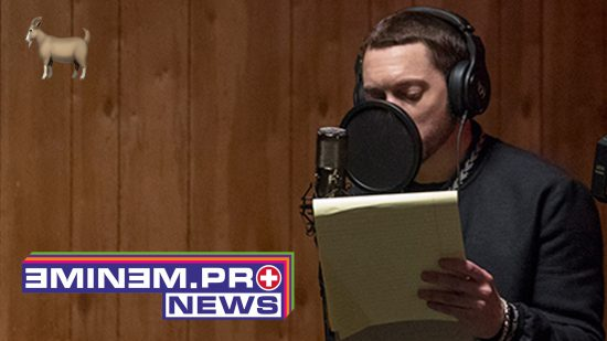 Eminem and Jessie are working in the studio ?