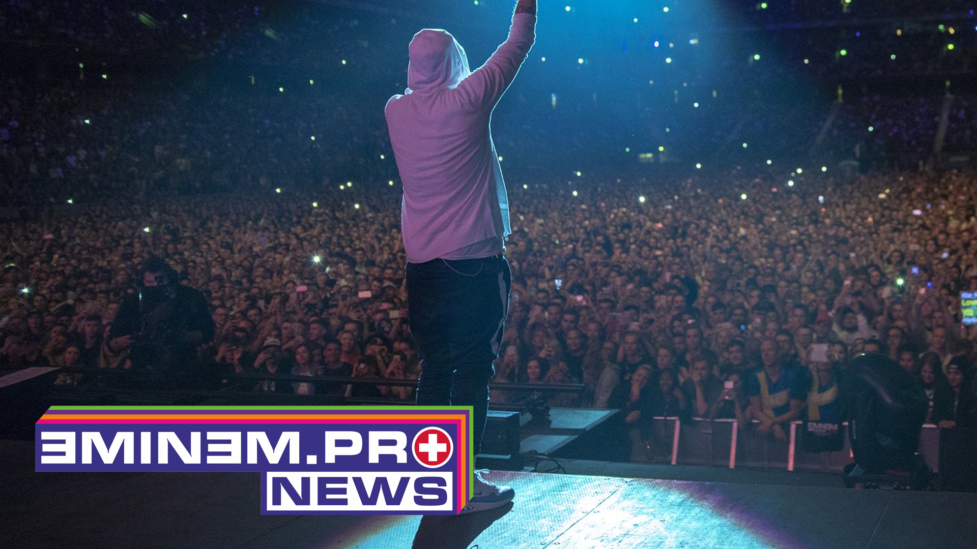 Eminem had broken the attendance record in Sweden and Norway