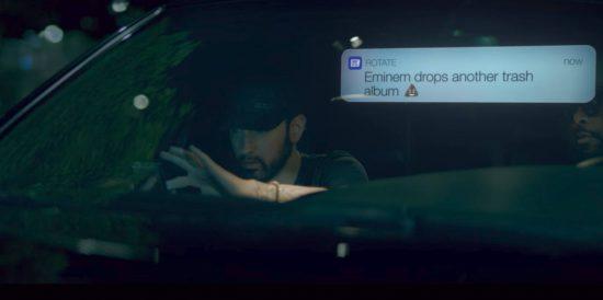 "World premiere: Eminem — ""Fall"" (Music Video)"