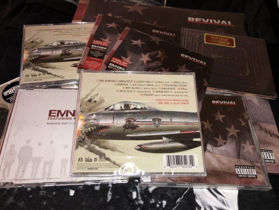 Parcel with british CD-version of Kamikaze album have arrived our editorial. Let's unpack!