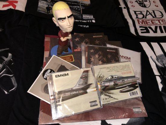 Parcel with british CD-version of Kamikaze album have arrived our editorial. Let's unpack!