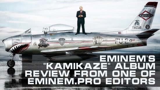 """""""Kamikaze"""" - a desperate step towards normality. Eminem's new album review from one of Eminem.Pro editors"""
