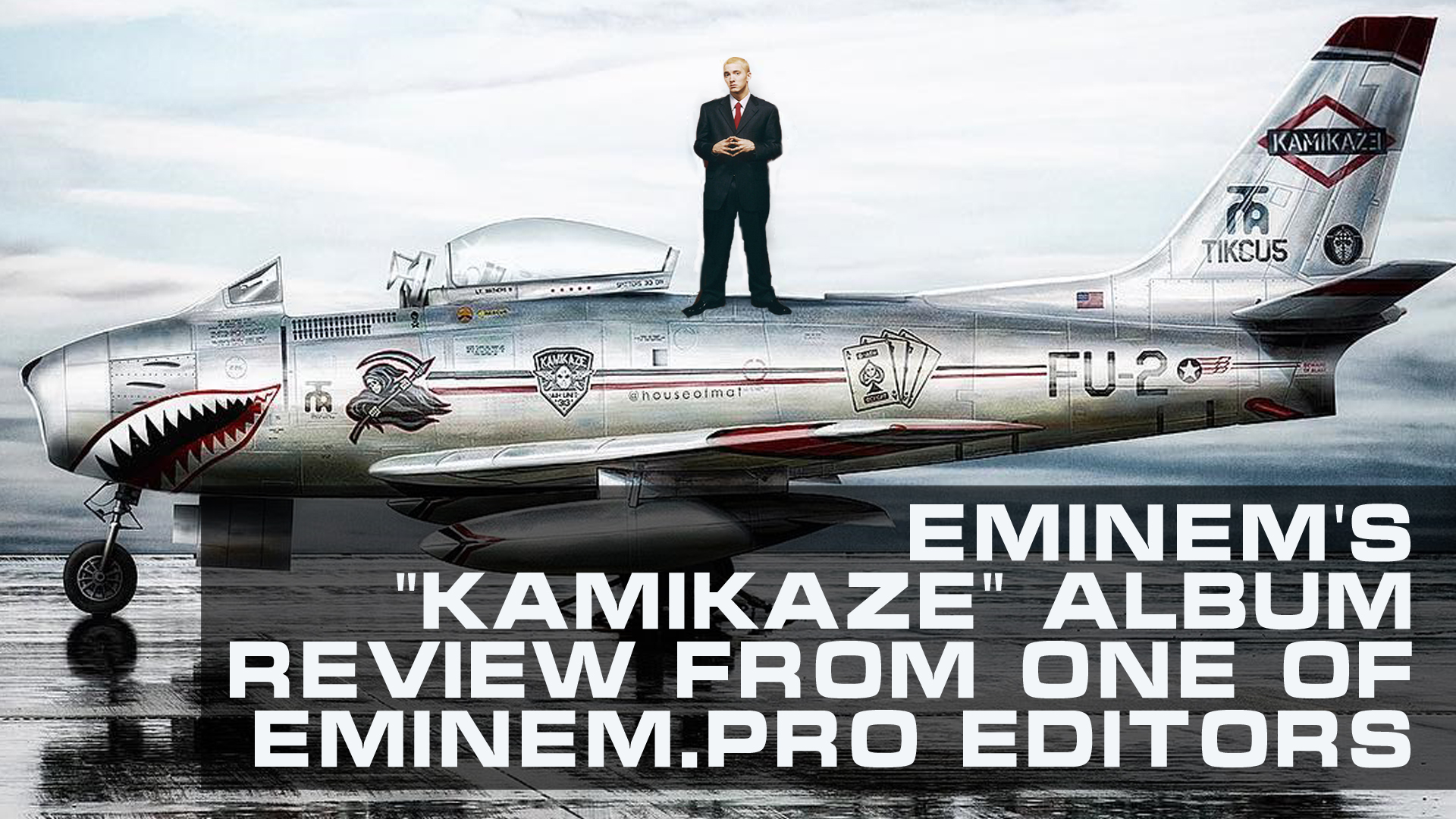 """Kamikaze"" - a desperate step towards normality. Eminem's new album review from one of Eminem.Pro editors"