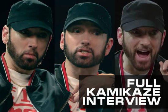 Full Interview: Eminem about Kamikaze, MGK's diss, Grammy, Joe Budden, Tyler the creator, Slaughterhouse and more! (September 2018)