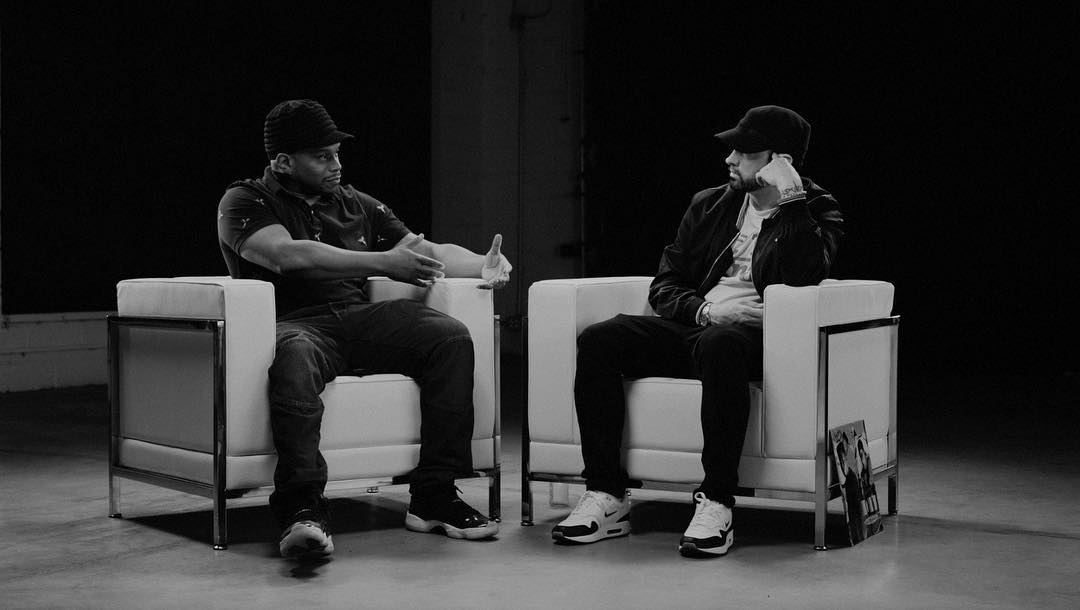 Eminem x Sway: Exclusive Kamikaze Interview