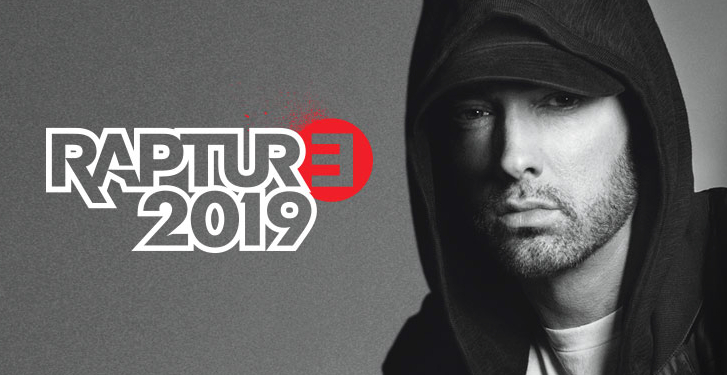 It's official: Eminem is coming to New Zealand and Australia in 2019!
