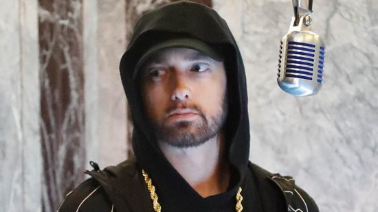 "Eminem Performs ""Venom"" from the Empire State Building! (Jimmy Kimmel Live!)"