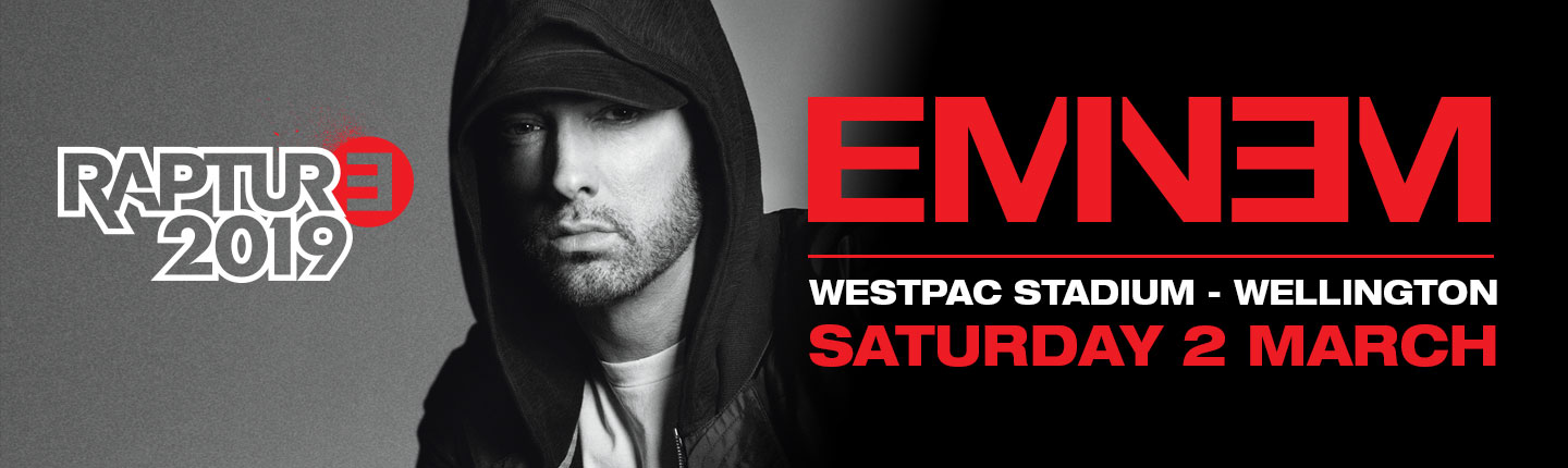 It's official: Eminem is coming to New Zealand in 2019!