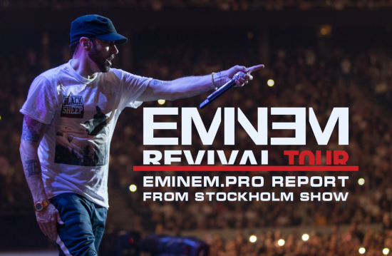 In July we went on Eminem's Revival Tour and prepared an exlusive report from the concert in Stockhom.